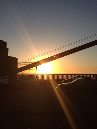 Puente Golden Gate: 夕陽が綺麗!