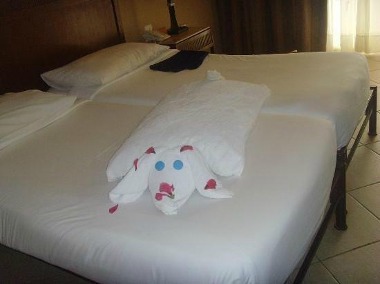 Jaz Mirabel Beach: Towel Art