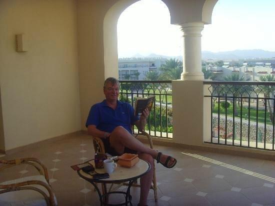 Jaz Mirabel Beach: Our huge corner veranda