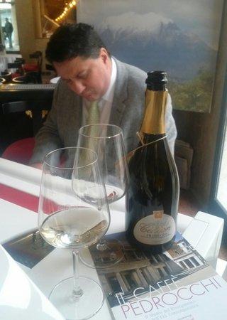Caffe Pedrocchi: il Maestro Galliano Sommavilla da Melbourne.