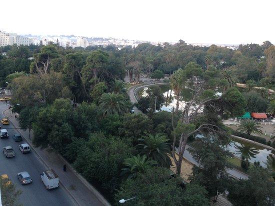Hotel Les Ambassadeurs : depuis le balcon