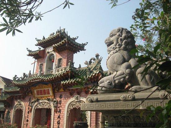 Fukian Assembly Hall (Phuc Kien): Front entrance to Fukian Assembly Hall.