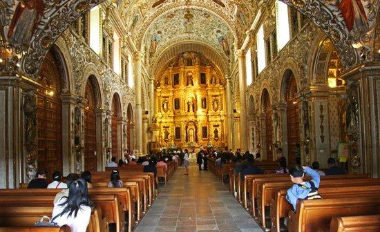 Templo de Santo Domingo de Guzmán: Interior