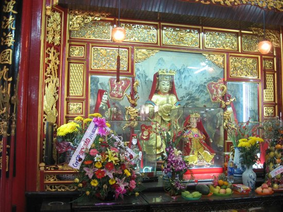 Fukian Assembly Hall (Phuc Kien): Shrines to the Sea Goddess.