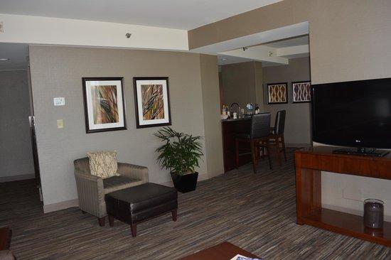 The Westin Peachtree Plaza: Living Area