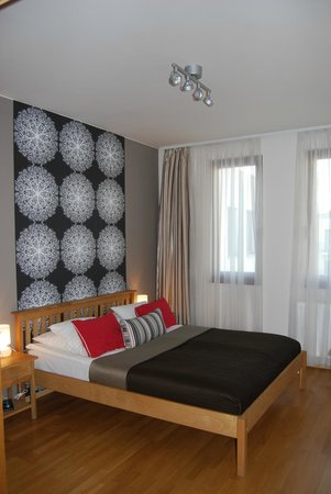 7Seasons Apartments Budapest: our lovely bedroom!!