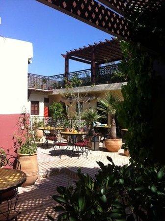 Hotel Sherazade: Terrazza