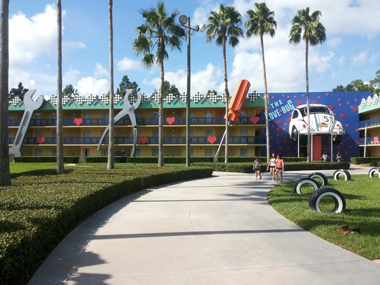 Disney's All-Star Movies Resort: Bloco The love Bug