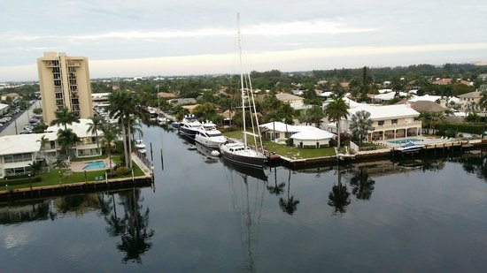 Residence Inn Fort Lauderdale Intracoastal/Il Lugano: view from the room