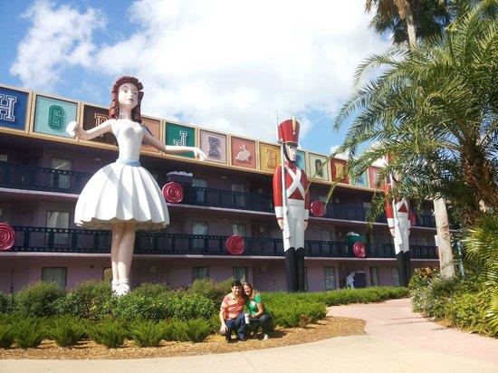 Disney's All-Star Movies Resort: Bloco O Soldadinho e a Bailarina