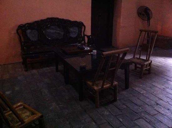 Valleluna Yangshuo: 其中一个厅(颇有地主的感觉,不过没拍好)