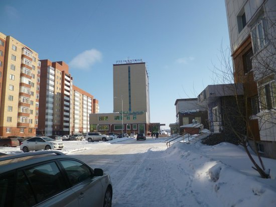 Kazzhol Hotel : View from outside