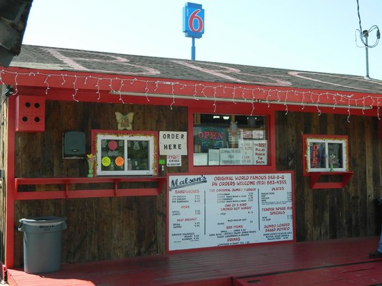 G-Daddy's Real Barbeque: Look for the shack with the red trim