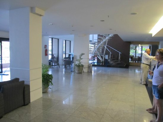 Hotel Diogo Fortaleza : Lobby Entrada