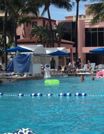 Boca Raton Resort, A Waldorf Astoria Resort: Adam Sandler at the Tower pool :-)