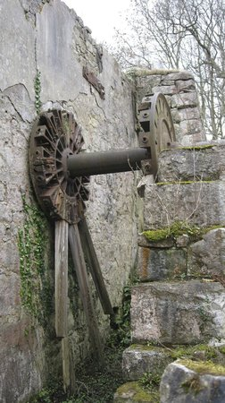 Anglesey Walking Holidays - Day Tours : Old Mill Wheel