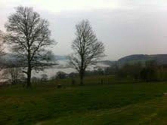 Mansion House Llansteffan : View