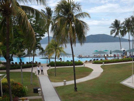 Shangri-La's Tanjung Aru Resort & Spa : Pool