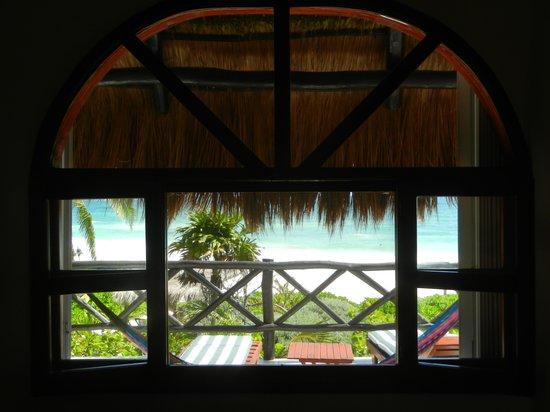 Nueva Vida de Ramiro : Vista da janela frontal da nossa cabana