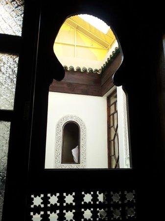 Algilà Fès : cortile casa 1