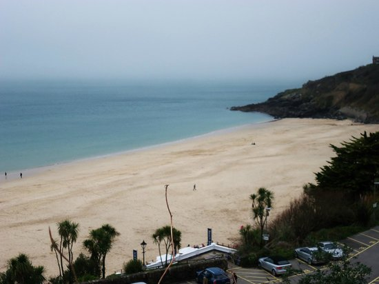 Bay St. Ives Bay Hotel: VIEW FROM HOTEL LOUNGE