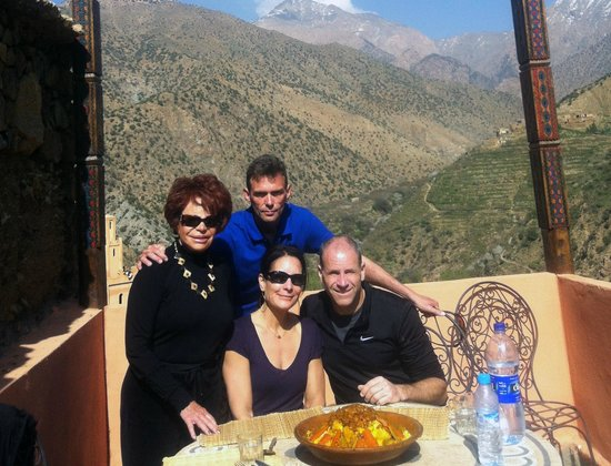Travel Guides & Ideas: Couscous after trekking...with Tod.  Brilliant!  From www.tourguidemarrakech.com