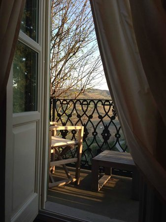 Relais San Maurizio: pretty little balcony off the bedroom