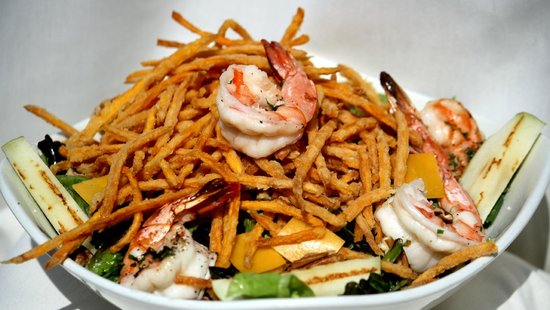 Rachel's Waterside Grill: Shrimp Salad