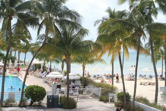 Southernmost Beach Resort : view from our room/balcony