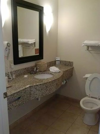 Sleep Inn & Suites - Jacksonville: Clean restroom