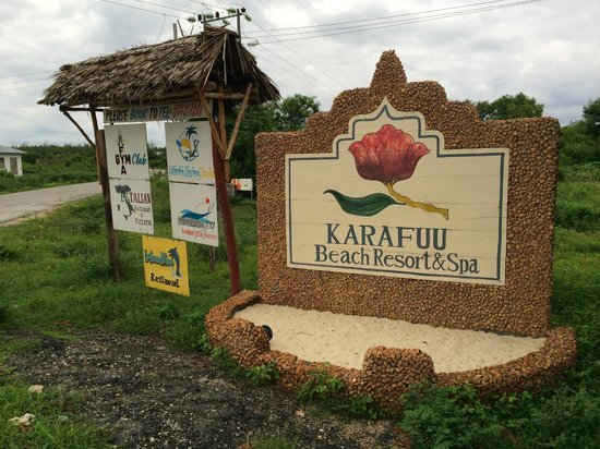 Karafuu Beach Resort and Spa: Entrance