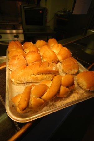 Filbeys Bistro: freshly baked bread everyday