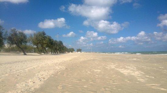 Lido Smeraldo Centro Vacanze: la spiaggia a settembre
