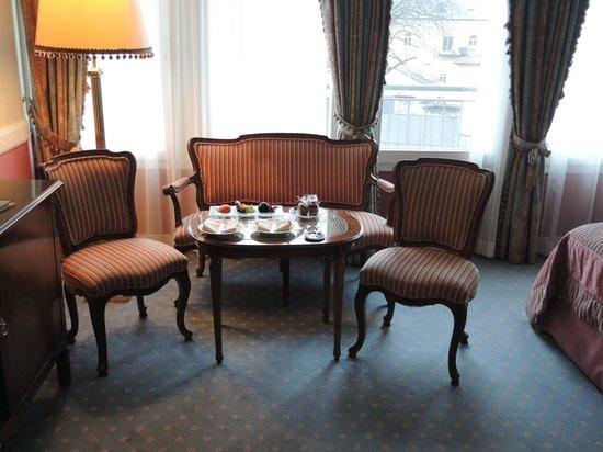Hotel Sacher Salzburg : Torta Sacher a la llegada..