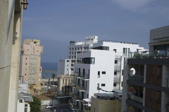 Sea Net Hotel: Вид из окна