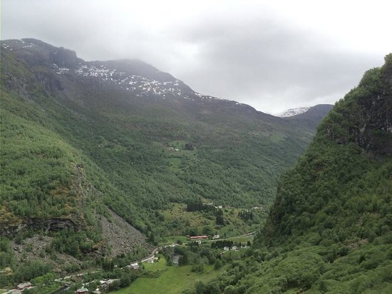 view from Brekkefossen