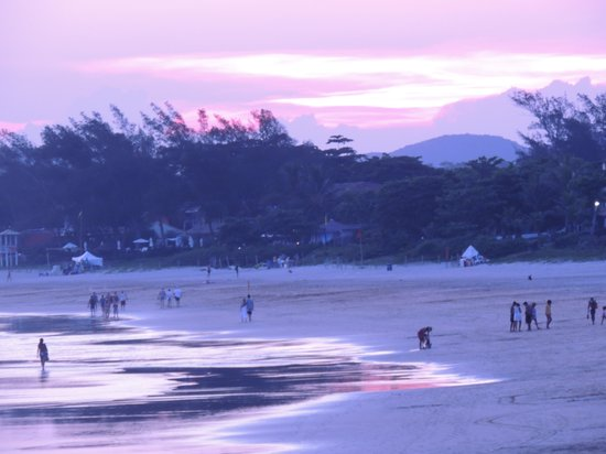 Geriba Beach : atardecer en geriba
