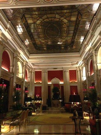 Hotel Avenida Palace : detalhe do teto