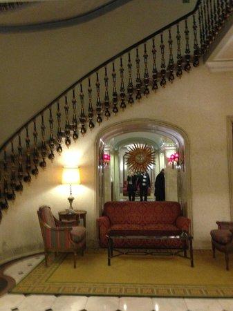 Hotel Avenida Palace : escadaria