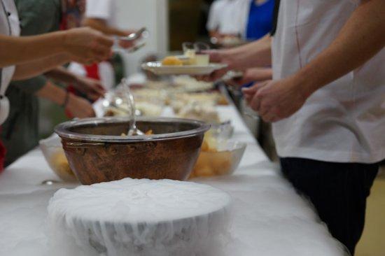 Lowen: Dessertbuffet