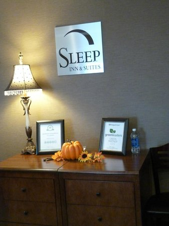 Sleep Inn and Suites: Recepcion del hotel