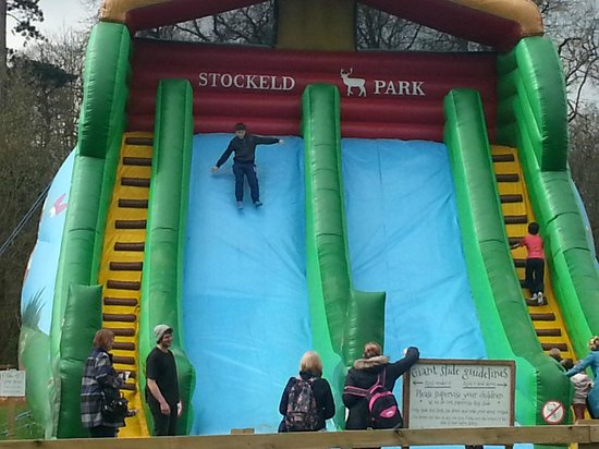 Stockeld Park: Big slide entertainment