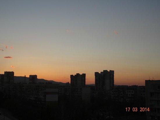 Hotel Vega Sofia: View from room