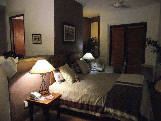 Isandlwana Lodge: Bedroom