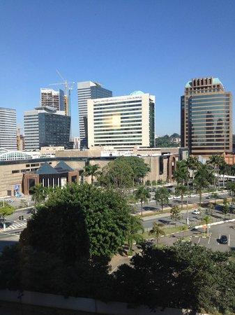 Ibis Sao Paulo Morumbi: Vista do quarto!