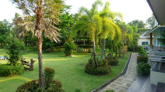 Watermill Resort: Garten