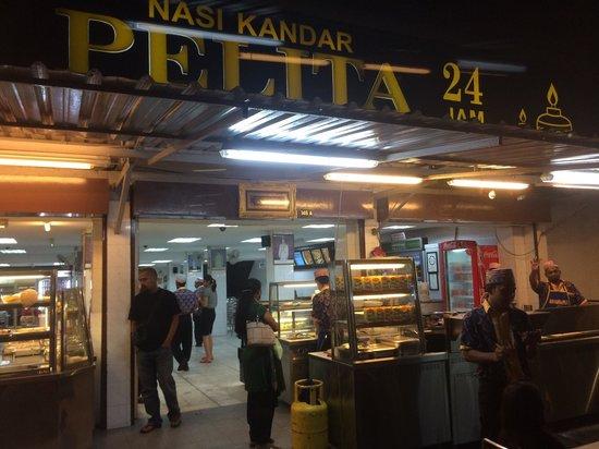 Pelita Nasi Kandar: Entrance