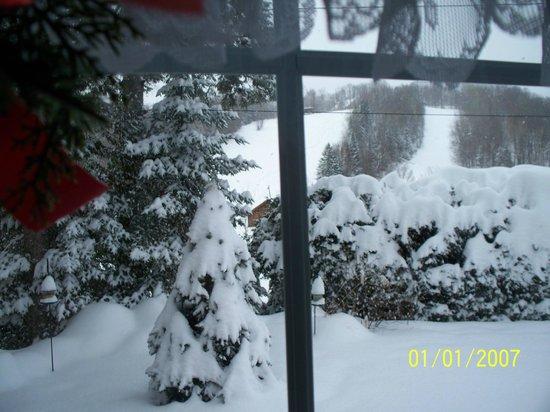 Gîte Pantoufles et Pamplemousse: Pantoufles et Pamplemousse en hiver