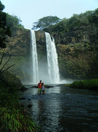 Hike Kauai With Me : In Wailua Falls!!