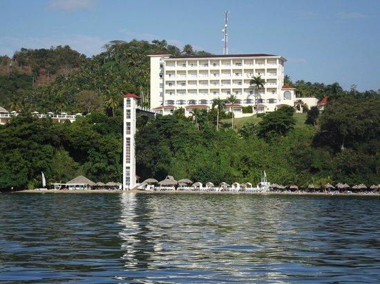 Grand Bahia Principe Cayacoa : a view from the water